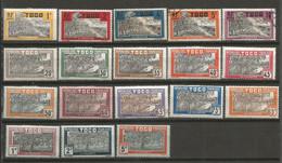 Timbre Colonie Française Togo Neuf * Et Oblitéré N 124 / 143 Manque Le N 129 Et 131 - Unused Stamps