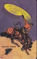TARJETA DE ESTADOS UNIDOS DE UN CABALLO (HORSE) RODEO EN DALLAS - TEXAS - Unclassified