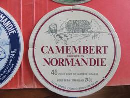 1 étiquette De Fromage Normandie - Cheese