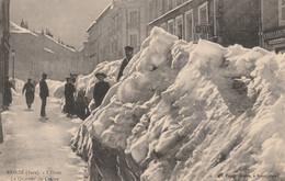 39 MOREZ L'hiver Le Quartier Du Centre - Morez