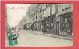 MAMERS 1911 RUE CHEVALLIER TABAC BOULANGERIE CARTE EN BON ETAT - Mamers