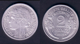2 F 1959 MORLON  SUPERBE !!! - I. 2 Francs