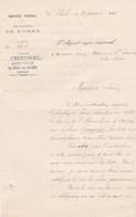 LE THEIL SUR HUISNE CHESNELVAGENT VOYER SERVICE VIGINAL ANNEE 1911 - Non Classificati