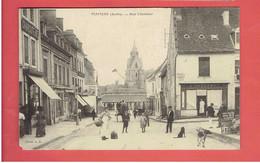 MAMERS RUE CHEVALIER PHARMACIE SAUGERON TABAC CARTE EN BON ETAT - Mamers
