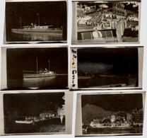 6  Négatif De  Photo 1926 - 4.5x6.5cm LAC LEMAN BATEAU L EVIANA... - EVIAN GENEVE ST BERNARD - Lugares