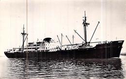"""Cpsm Paquebot Bateau """" Equateur   """" C.G.T Compagnie Générale Transatlantique 1950 Bordeaux échoué Rochers De Gris Nez - Passagiersschepen"""