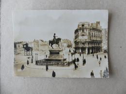 Orléans 1941 Place Du Martroi Vers La Rue Bannier VOGUE Soldatenheim Standort Oléans - Orleans