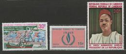 Cameroun YT 466-468 Neuf Sans Charnière - XX - MNH - Cameroon (1960-...)