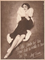 SUZY VERNON Affichette Publicitaire  18cm X 23 - Reclame