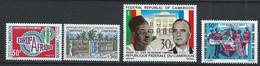 Cameroun YT 492-495 Neuf Sans Charnière - XX - MNH - Cameroon (1960-...)