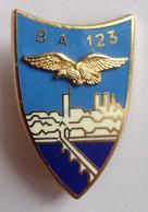 Insigne Militaire Aviation Armée De L'Air BASE BA 123 ORLEANS - Forze Aeree