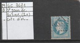 N° 29 B  -  GC 3671  SAINT-JEAN-DE-LOSNE  (20) COTE D' OR - REF 10009 - 1863-1870 Napoleon III With Laurels