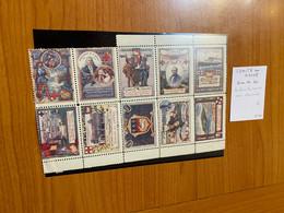 Bloc De 10 Vignettes - Comite Du Havre - Croix Rouge - Rode Kruis
