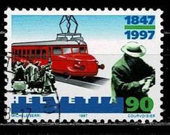 Schweiz 1997, Michel# 1602 O 100 Jahre Kino - Gebruikt
