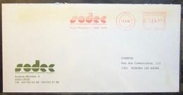 Belgium - Advertising Meter Franking Cover EMA 1985 Liege Sodec Community Equipment Development Company - 1980-99