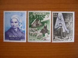 Monaco N° 493/495 Neuf ** - Unused Stamps