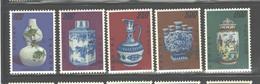 """TAIWAN,1972 """"ANCIENT PORCELAIN"""" #1758 - 1762  MNH - Ungebraucht"""