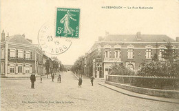 HAZEBROUK - LA RUE NATIONALE - Hazebrouck