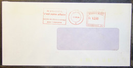 Belgium - Advertising Meter Franking Cover Label EMA 1984 Liege Collignon Dust Collection For Industry - 1980-99