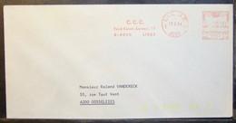 Belgium - Advertising Meter Franking Cover Label EMA 1984 Liege C.c.c - 1980-99