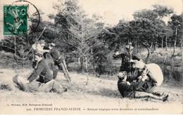 Doubs - Frontière Franco-Suisse - Attaque Tragique Entre Douaniers Et Contrebandiers. Edition Michaux, N° 506. Bon état. - Unclassified