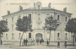 SAINT AMAND MONTROND LA CASERNE DE GENDARMERIE - Saint-Amand-Montrond