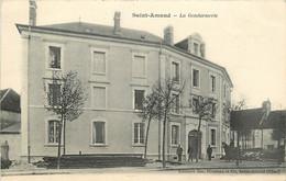 SAINT AMAND MONTROND LA  GENDARMERIE - Saint-Amand-Montrond
