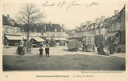 SAINT AMAND MONTROND LA PLACE DU MARCHE - Saint-Amand-Montrond
