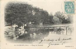 LA GUERCHE ETANG DU FOURNEAU LAVEUSES - La Guerche Sur L'Aubois