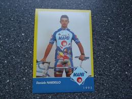 VARESE / ITALY: Cycliste Daniele Nardello - Mapei - GB 1995 - Cycling