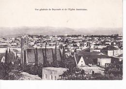 VUE GENERALE DE BEYROUTH ET DE L'EGLISE AMERICAINE , A VOIR !!! REF 69850 - Libanon