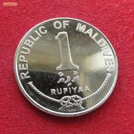 Maldive Islands Maldives 1 Rufiyaa 2007 KM# 73b  Maldivas - Maldives