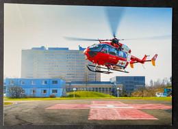 Airbus Helicopters EC 145 Anflug Heliport Kantonsspital Baden AG - Elicotteri