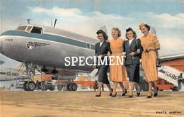 Four Charming Air-hostesses SABENA @ Bruxelles - 1946-....: Modern Era