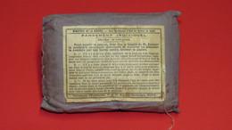 PANSEMENT INDIVIDUEL REGLEMENTAIRE FRANCAIS 14/18 OU 39/45 - 1939-45