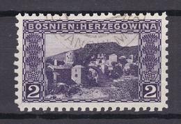 Österreich - Bosnien - 1906 - Michel Nr. 30 C Gez. 4x 9 1/4 - Gestempelt - Used Stamps