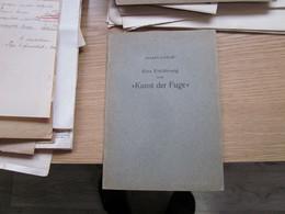 Albert Lunow Eine Einfuhrung In Die Kunst Der Fuge 31 Pages - Libros Antiguos Y De Colección