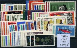 DDR Sammlung Jahr 1966 Postfrisch Komplett - Ungebraucht