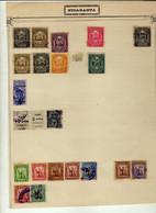 Nicaragua (1909-1912) - Lot De Timbres Obliteres Et Neufs* - Nicaragua