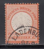 1872 Michel Nº 14, Geprüft - Usados