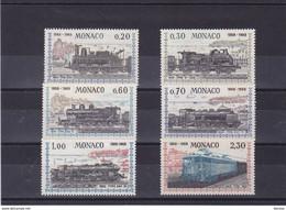 MONACO 1968 TRAINS Yvert 752-757 NEUF** MNH Cote : 20 Euros - Nuevos