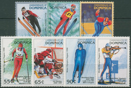 Dominica 1997 Olympia Nagano Frühere Medaillengewinner 2365/71 Postfrisch - Dominica (1978-...)