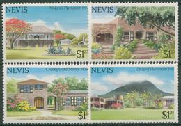 Nevis 1985 Tourismus Hotels 228/31 Postfrisch - St.Kitts Y Nevis ( 1983-...)