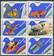 Kuba 1982 Weltraumforschung 2650/55 Postfrisch - Neufs