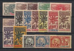 Haut Sénégal Et Niger - 1906 - N°Yv. 1 à 17 - Série Faidherbe Complète - Neuf * / MH VF - Neufs