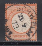 1872 Michel Nº 3 - Oblitérés