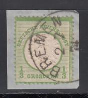 1872 Michel Nº 17,  Geprüft - Oblitérés