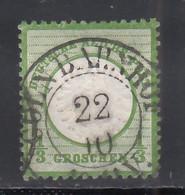 1872 Michel Nº 17, - Usati