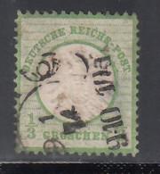 1872 Michel Nº 17, - Gebraucht