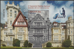 2019-ED. 5355 H.B. -EXFILNA 2019. Santander- SIN FONDO DE PLÁSTICO -USADO - 2011-... Usati